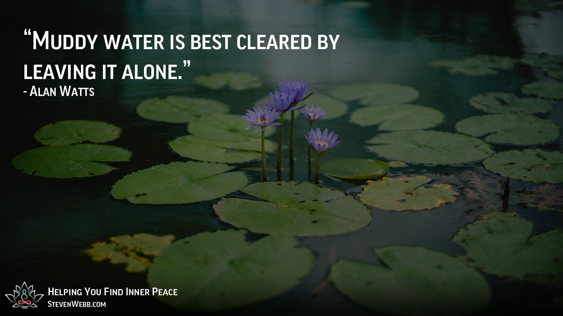 Find inner peace and happiness image quote